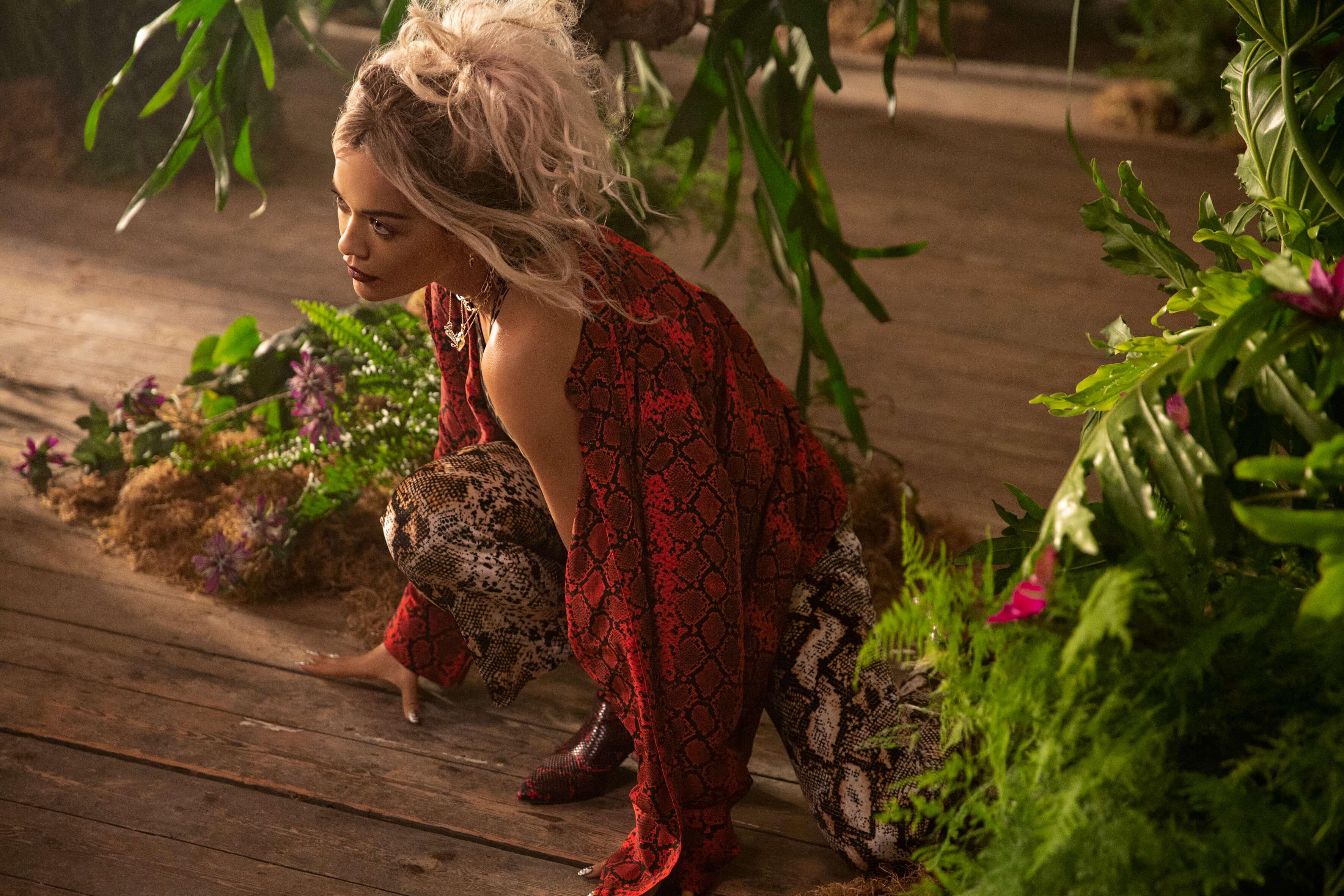Rita Ora für Deichmann