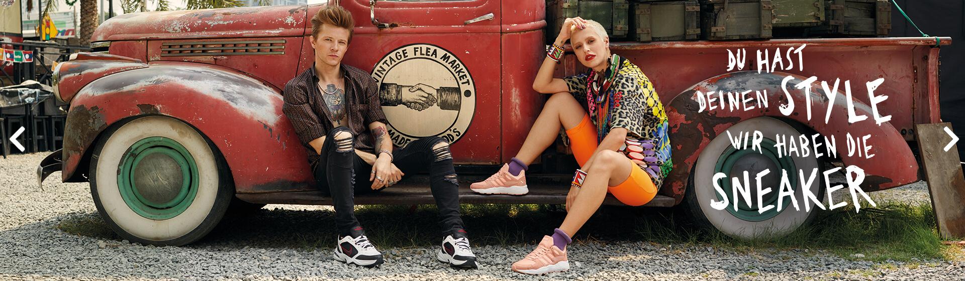 Du hast deinen Style - wir die Sneaker