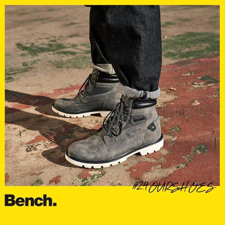 Bench Das Style Herren Sneaker in schwarz von Bench günstig