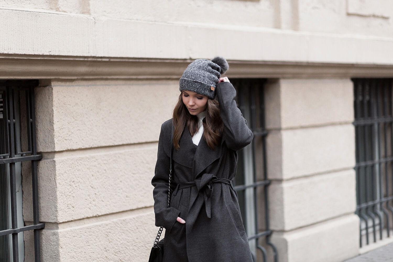Bathrobe Coats stylen, Wickelmantel, Mantel Trend Winter 2019, Shoelove by Deichmann