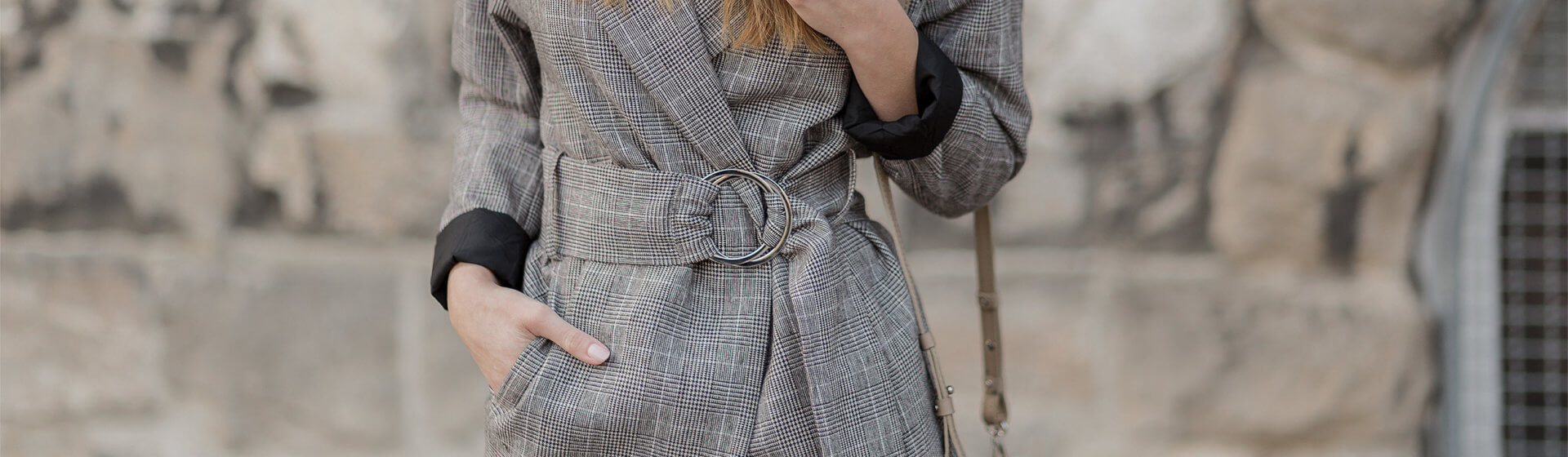 Blazer mit Taillengürtel stylen, Shoelove by Deichmann