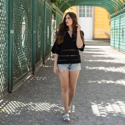 Casual Sommer Look mit Pantoletten-Shoelove Deichmann-Modeblog andysparkles