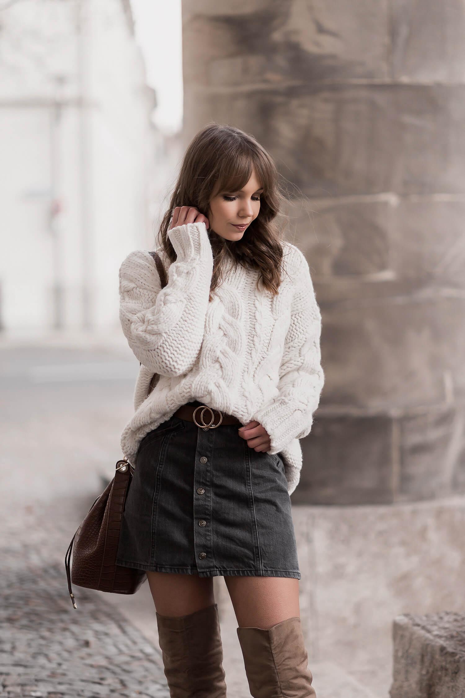 Chunky Knit: So tragen wir Kuschelpullover Shoelove by