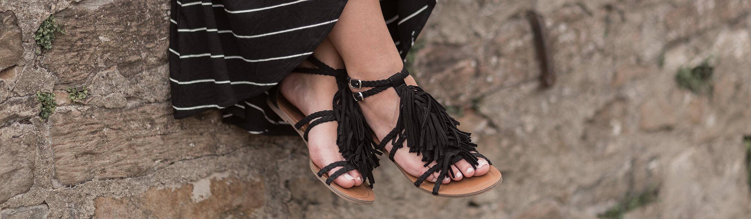 Bequem & Schick Flache Sandalen für den Sommer Shoelove