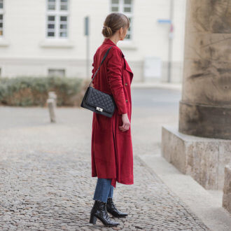 Roter Trenchcoat, It-Piece für den Frühling, Shoelove by Deichmann