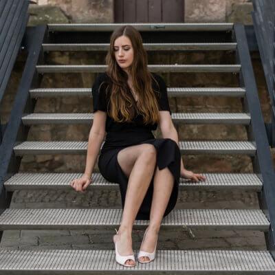 Slingbacks im Büro tragen-Riemchen Pumps-Büro Look mit Pumps-Shoelove by Deichmann-Modeblog-andysparkles