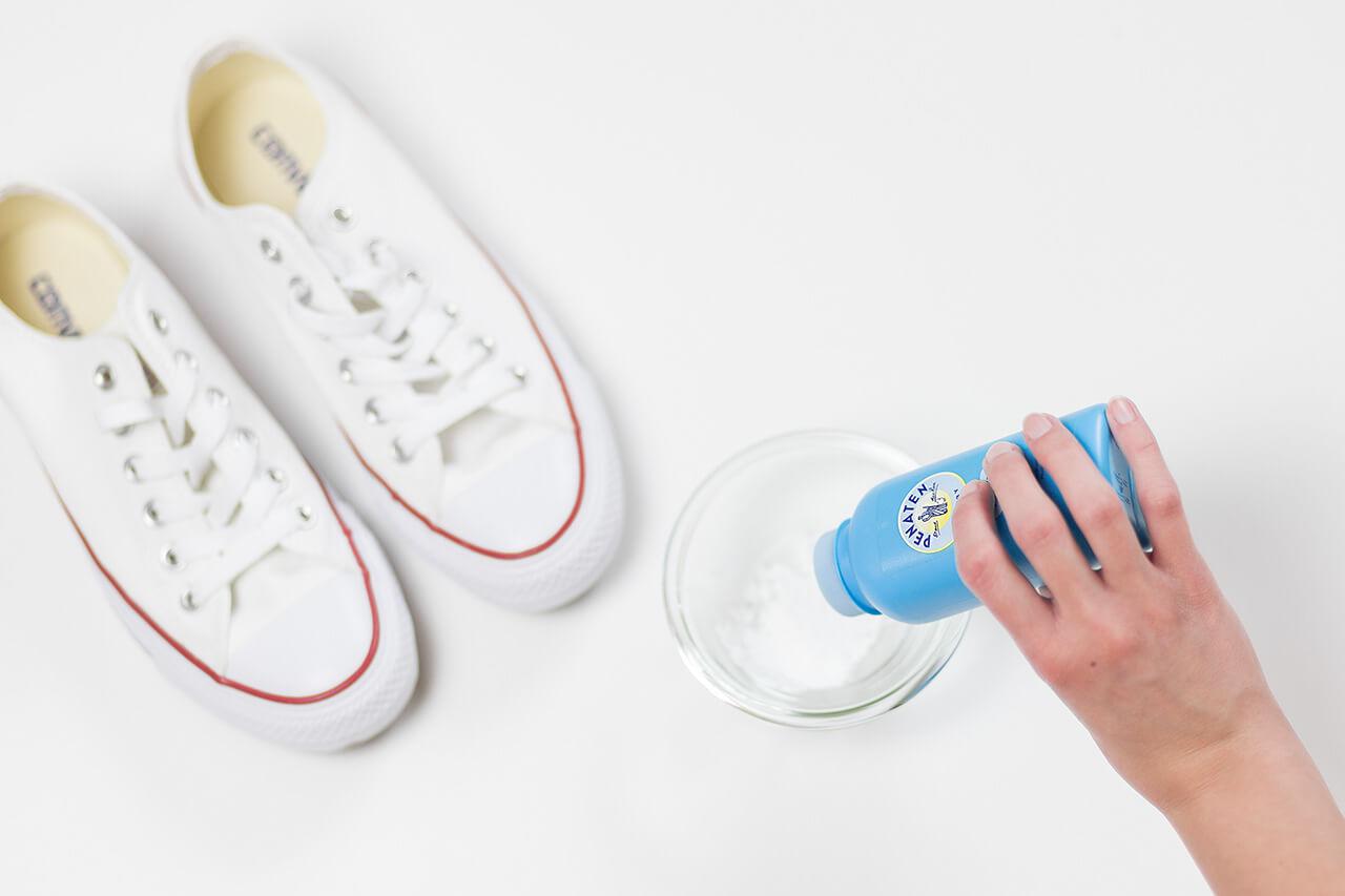 So werden eure Sneaker wieder sauber, Schuhe putzen, Life Hacks, Shoelove by Deichmann