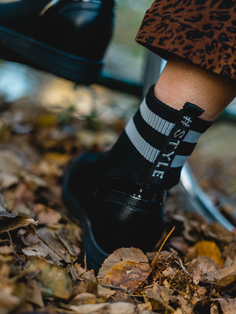 Sock Sneaker-Sock Sneaker kombinieren-Shoelove by Deichmann-Modeblog Herbstoutfit-andysparkles
