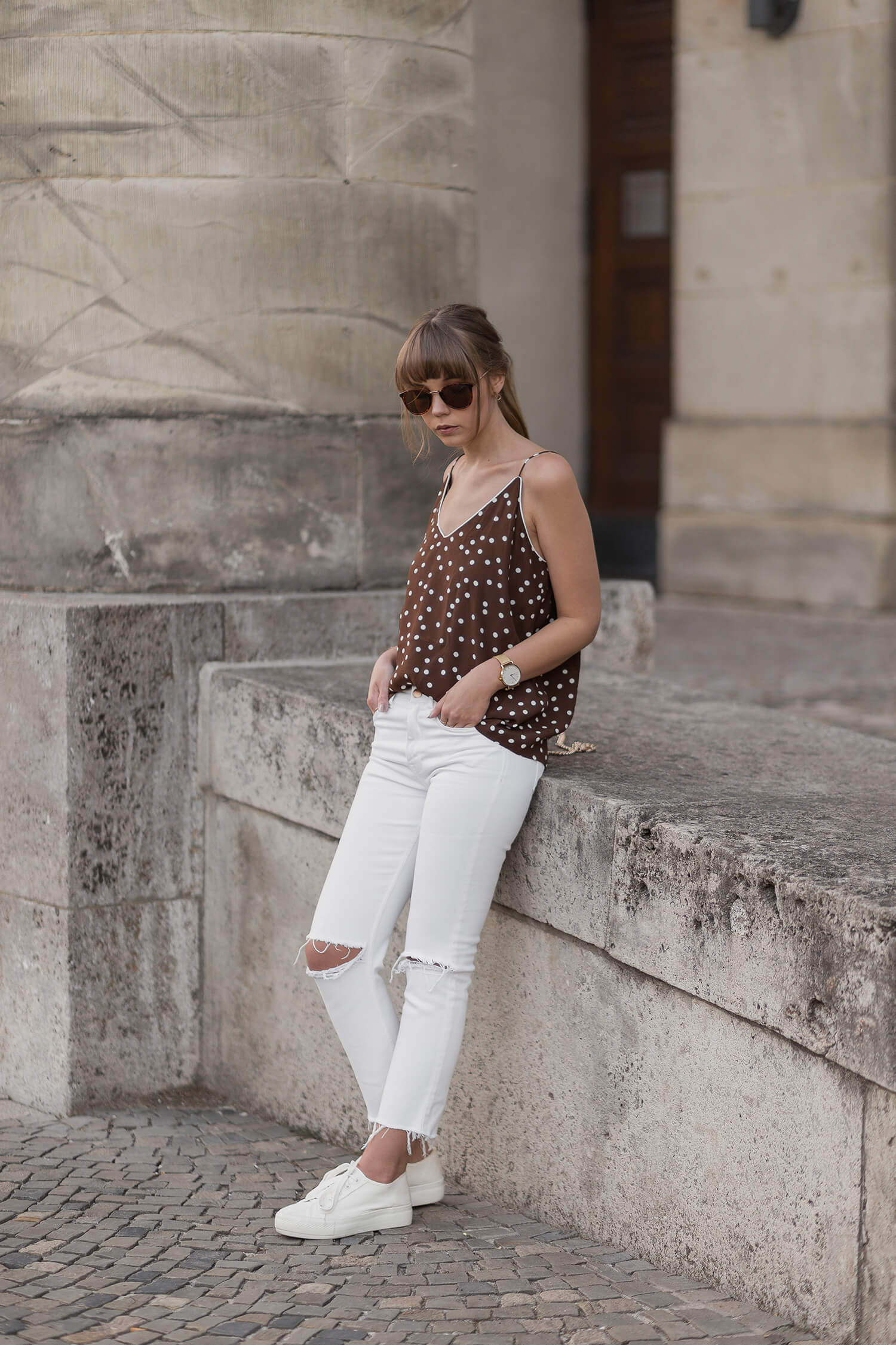 Spaghetti Top Outfit, Sommer Trend 2018, Shoelove by Deichmann