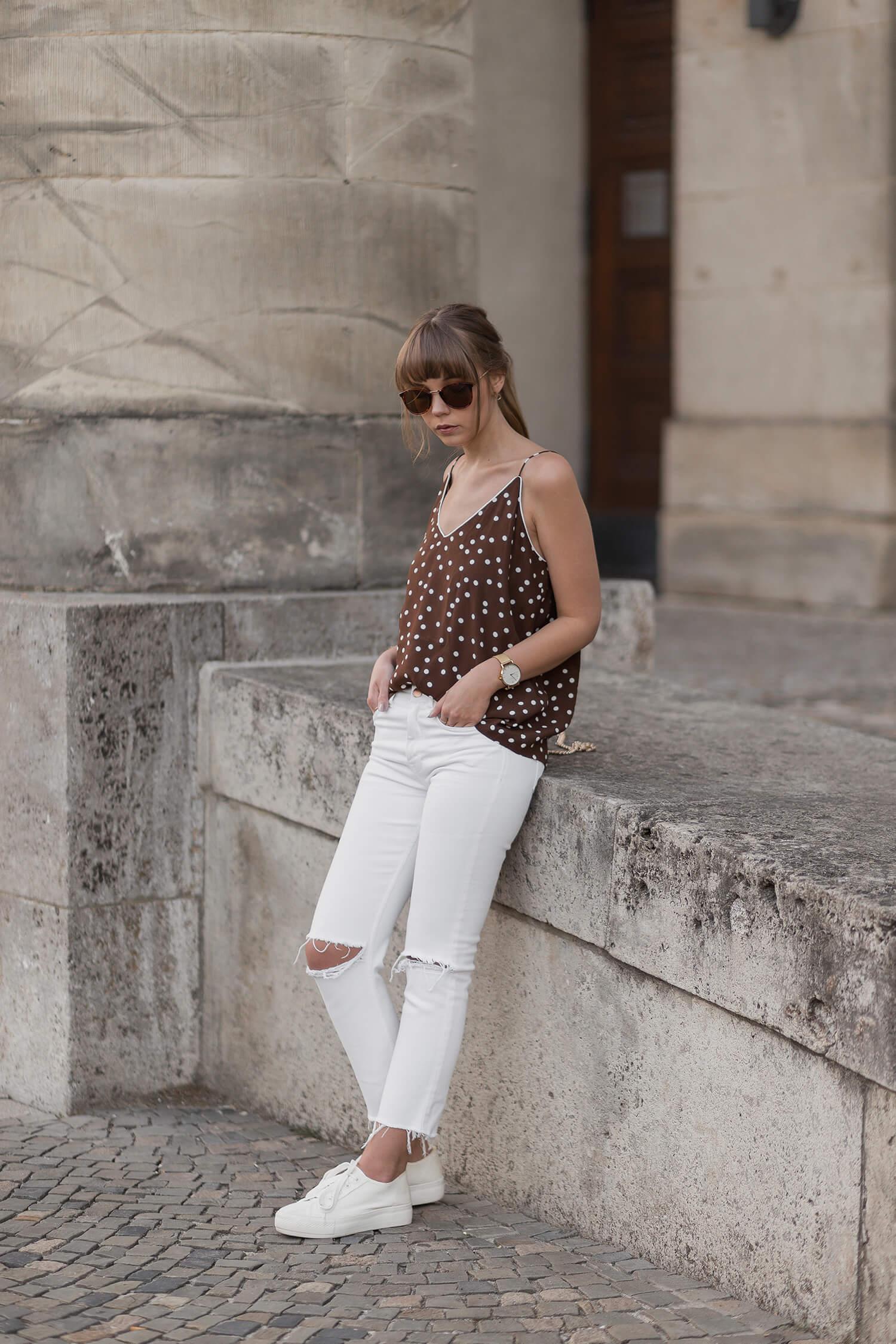 Weiße Jeans kombinieren Shoelove by Deichmann