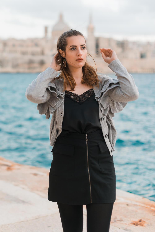 Statementärmel im Alltag tragen-Casual Look-Alltagsoutfit-Modeblog-andysparkles