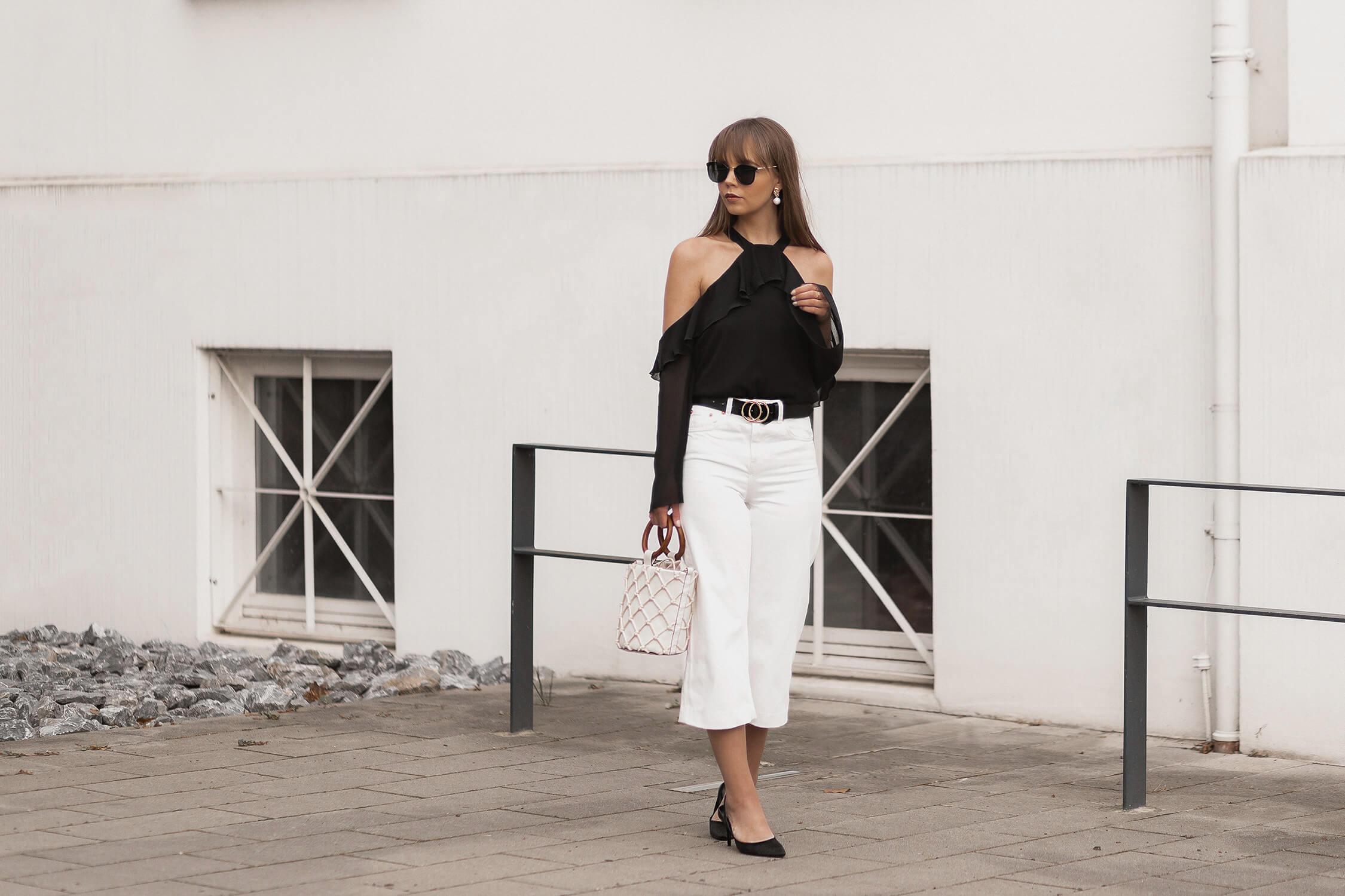Statement-Blusen stylen, extravagante Blusen Trend, Shoelove by Deichmann