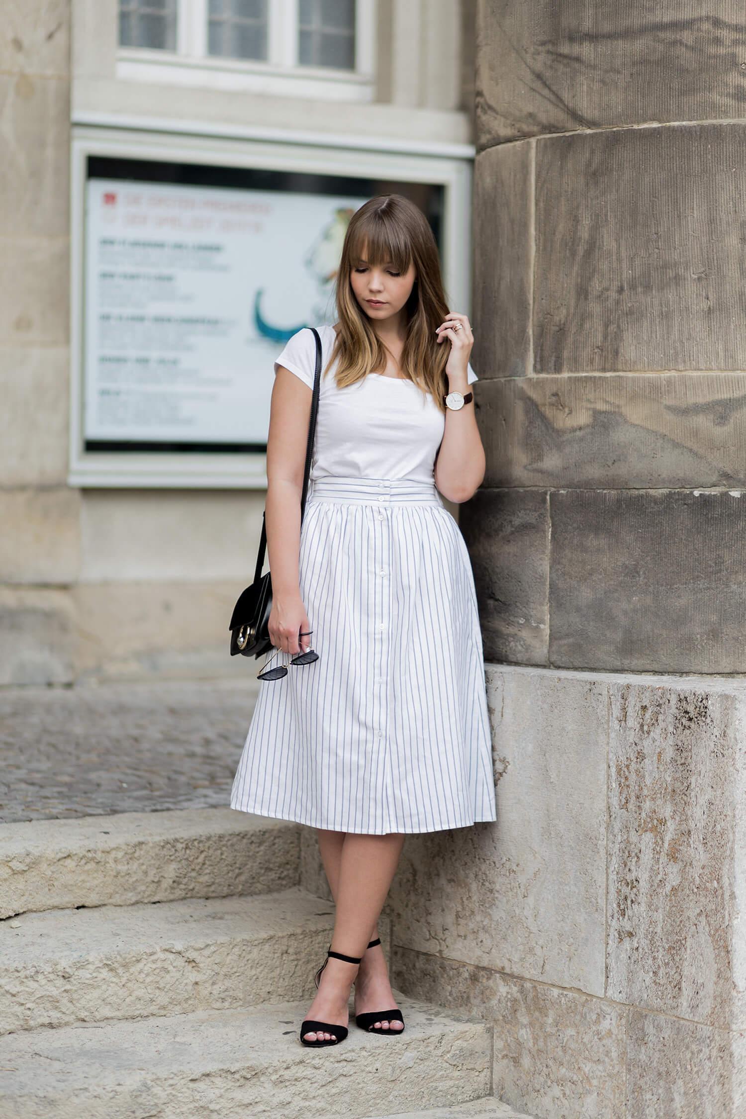 Streifen im Sommer Outfit, Trendblog by Deichmann