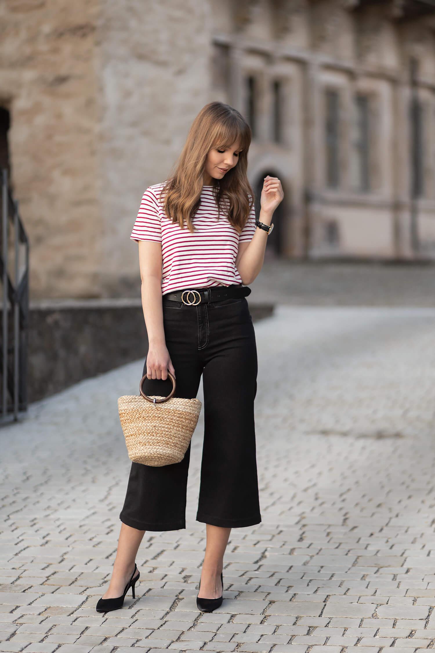 Streifen Shirt stylen, Styling-Ideen für den Sommer, Shoelove by Deichmann
