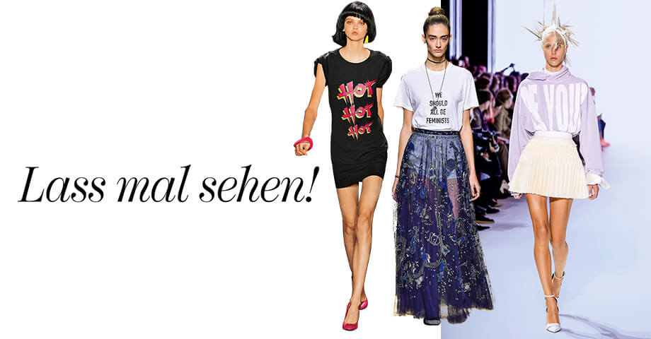 Trends vom Catwalk - Banner