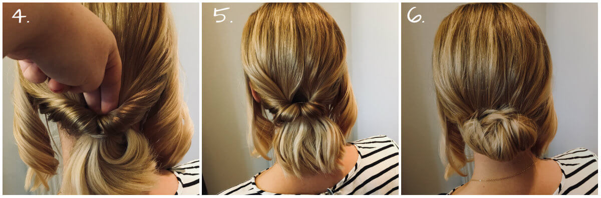 updo step 4-6