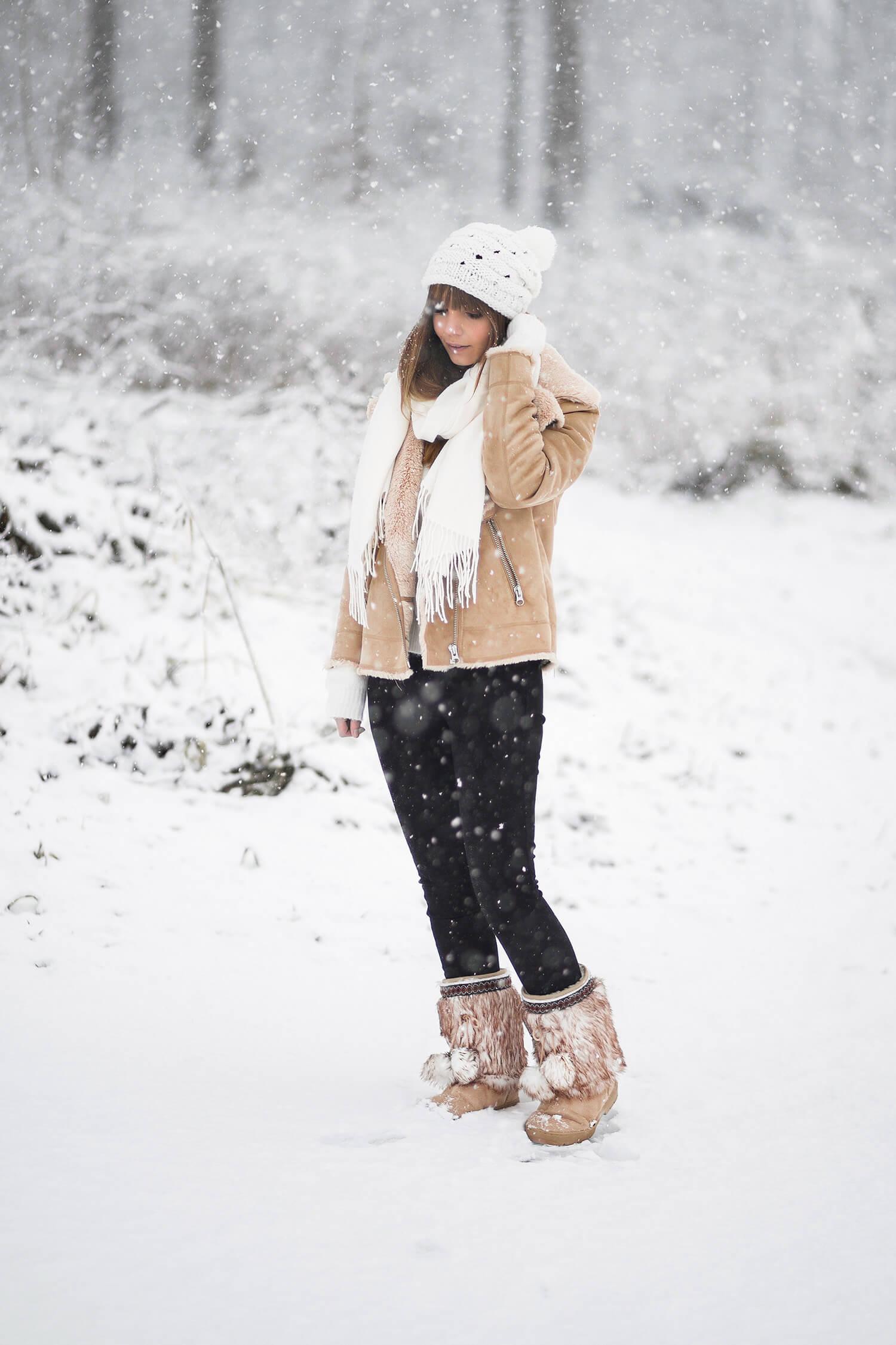 Warme Fellboots für den Winter stylen, Shoelove by Deichmann