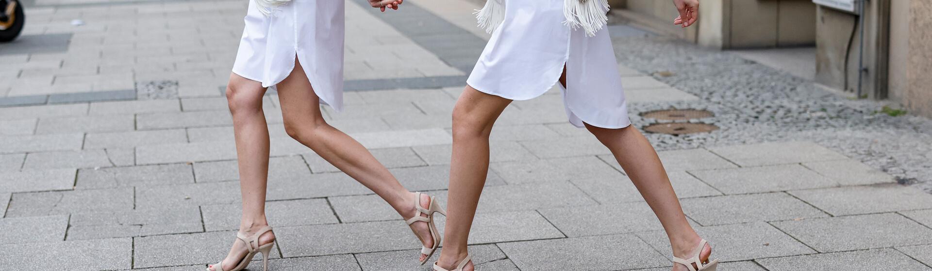 Sandalias para que tus piernas parezcan más largas