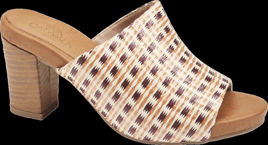 Sandalia destalonada que alarga las piernas
