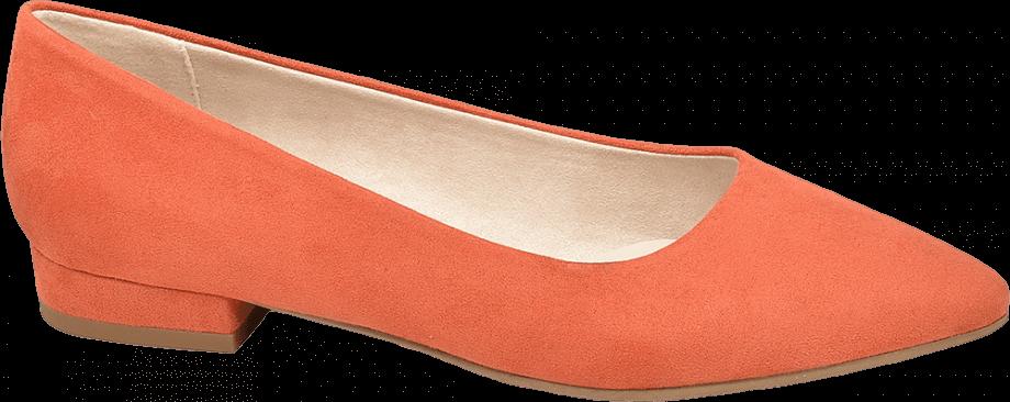 Bailarina color naranja