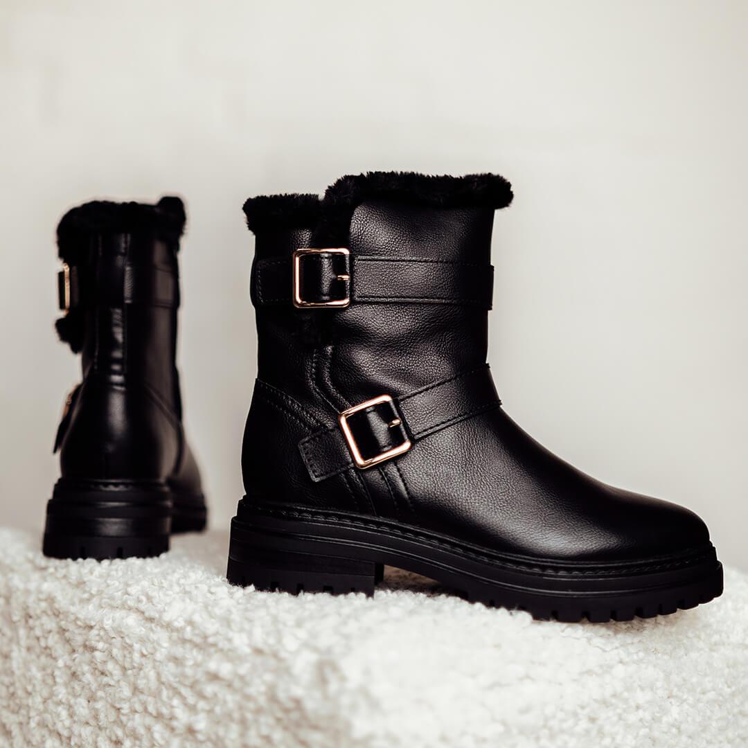 botas negras mujer