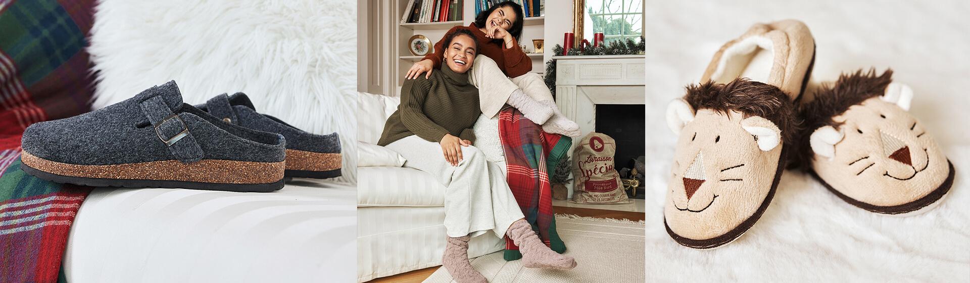Descubre las mejores zapatillas de estar por casa para mujer.