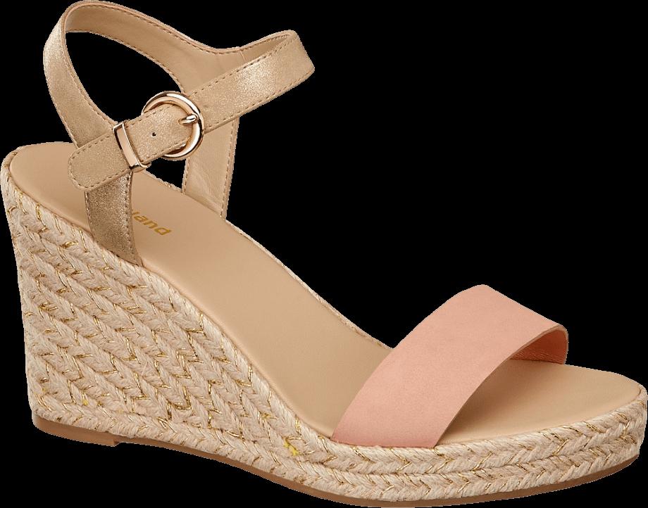 Color de sandalia que alarga las piernas