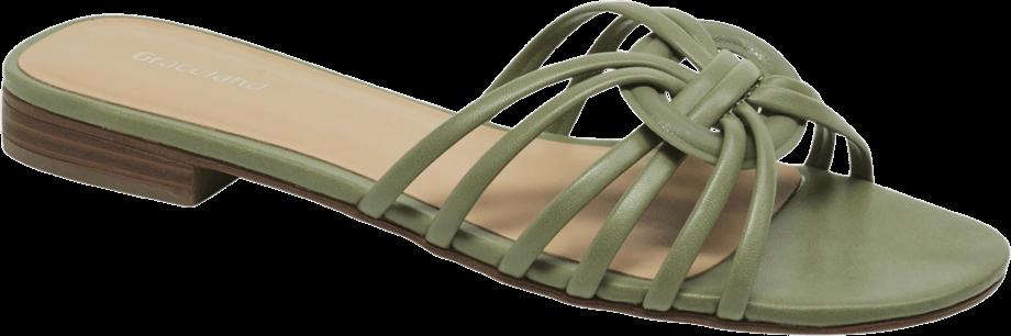 Sandalia pala verde