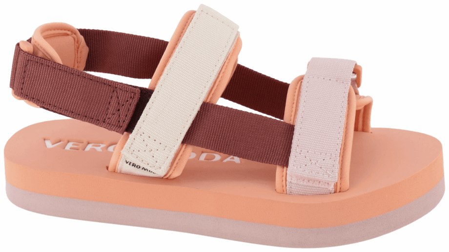 Sandalia velcro de colores