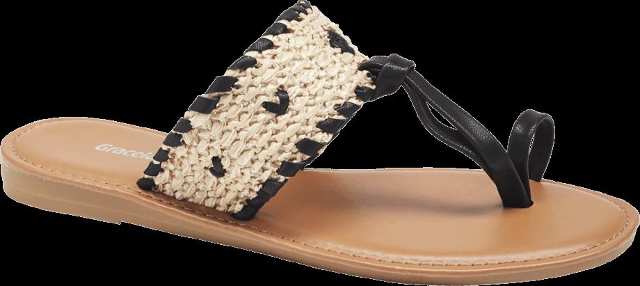 Sandalias dedo crochet