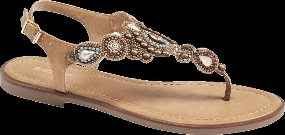 Sandalias dedo joyas