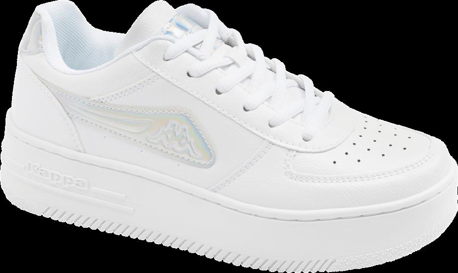 Sneakers Kappa blancas con plataforma