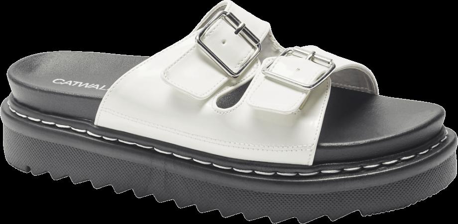 Sandalias ugly shoes blancas