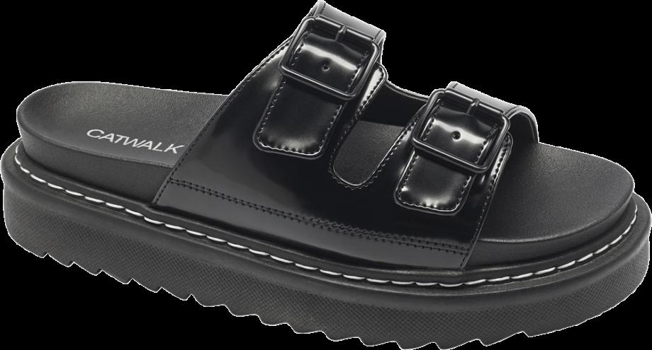 Sandalias ugly shoes negras