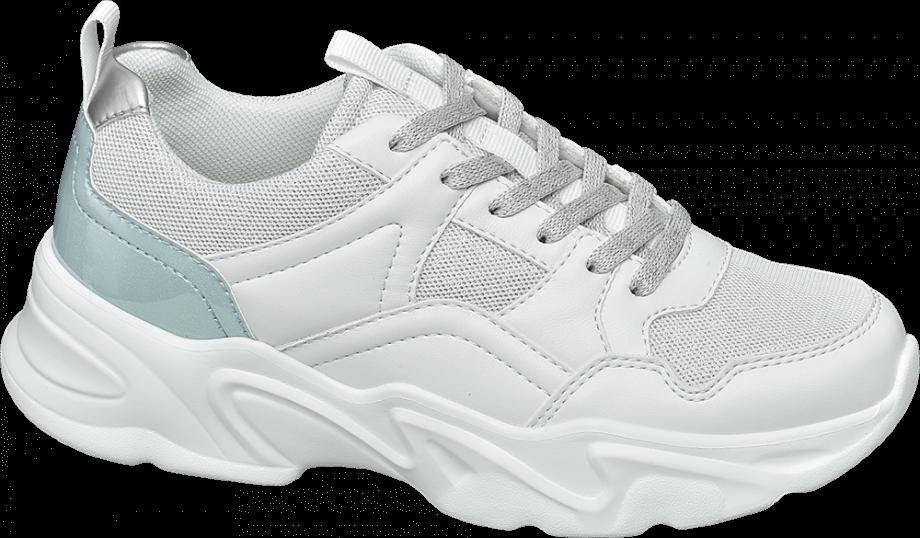 Sneakers ugly shoes metalizadas