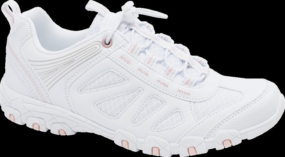 Zapatillas blancas para senderismo