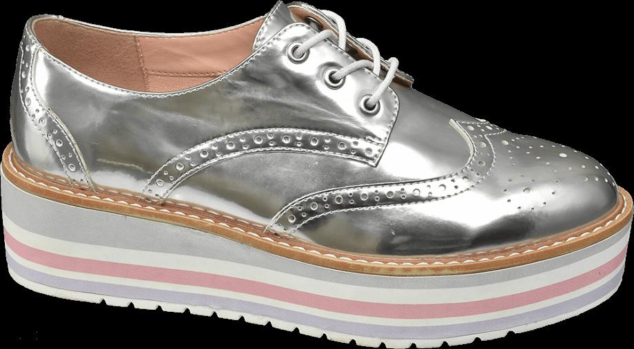 Zapato oxford mujer con plataforma