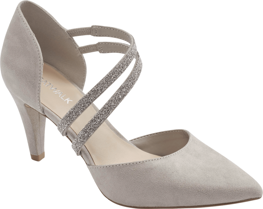 Zapatos tacón color nude