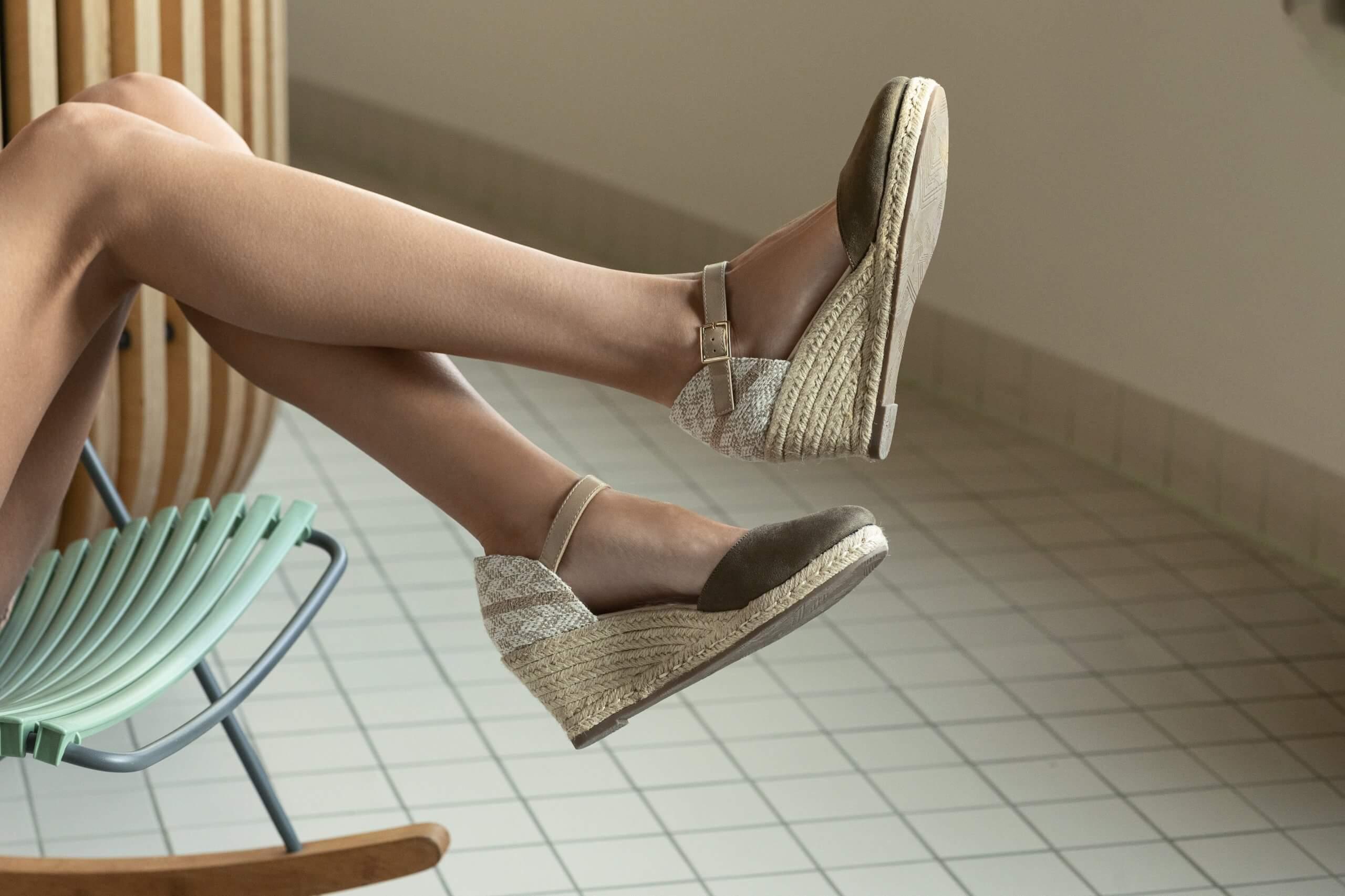 zapatos para alargar las piernas y parecer más alta