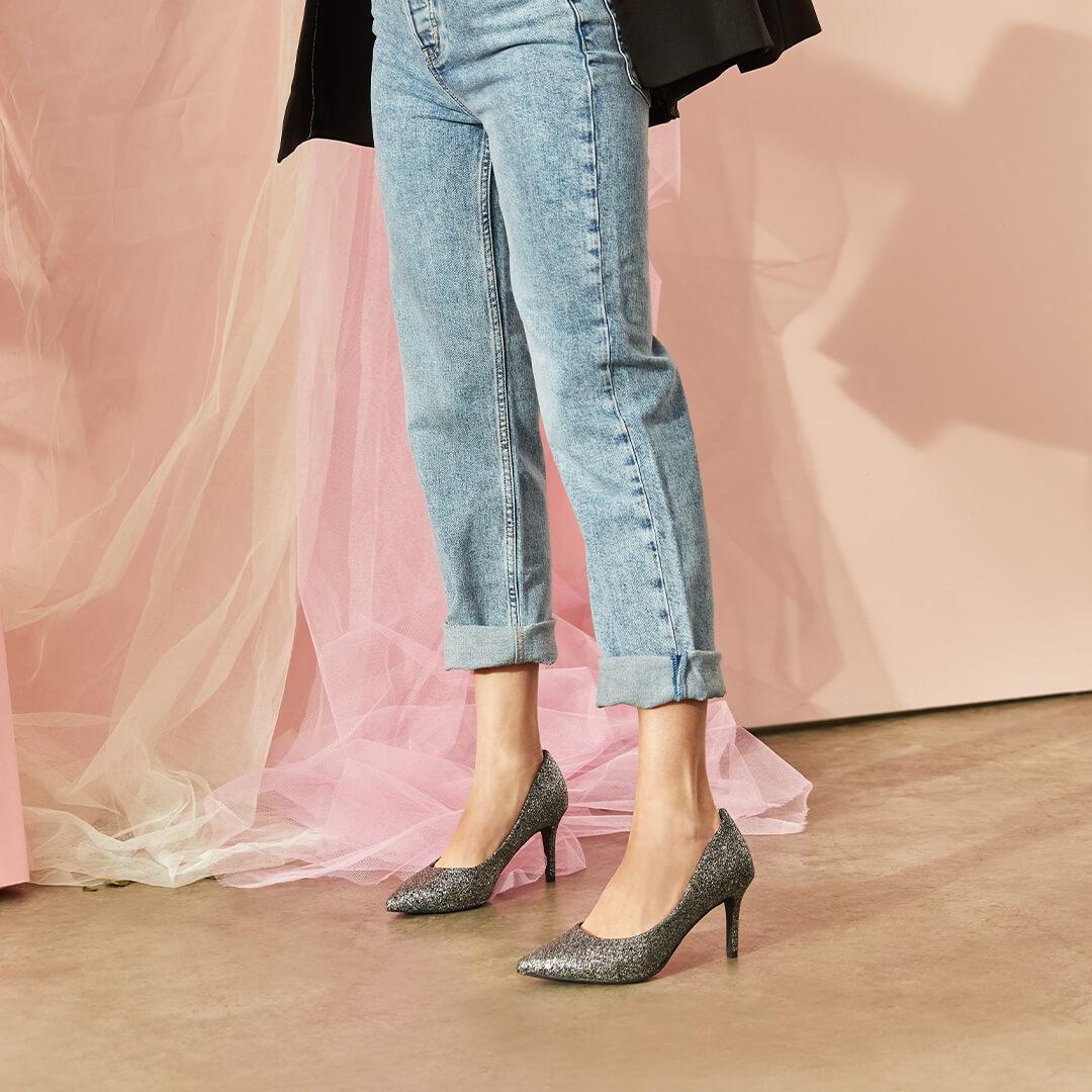 zapatos de tacón que no duelan los pies de mujer