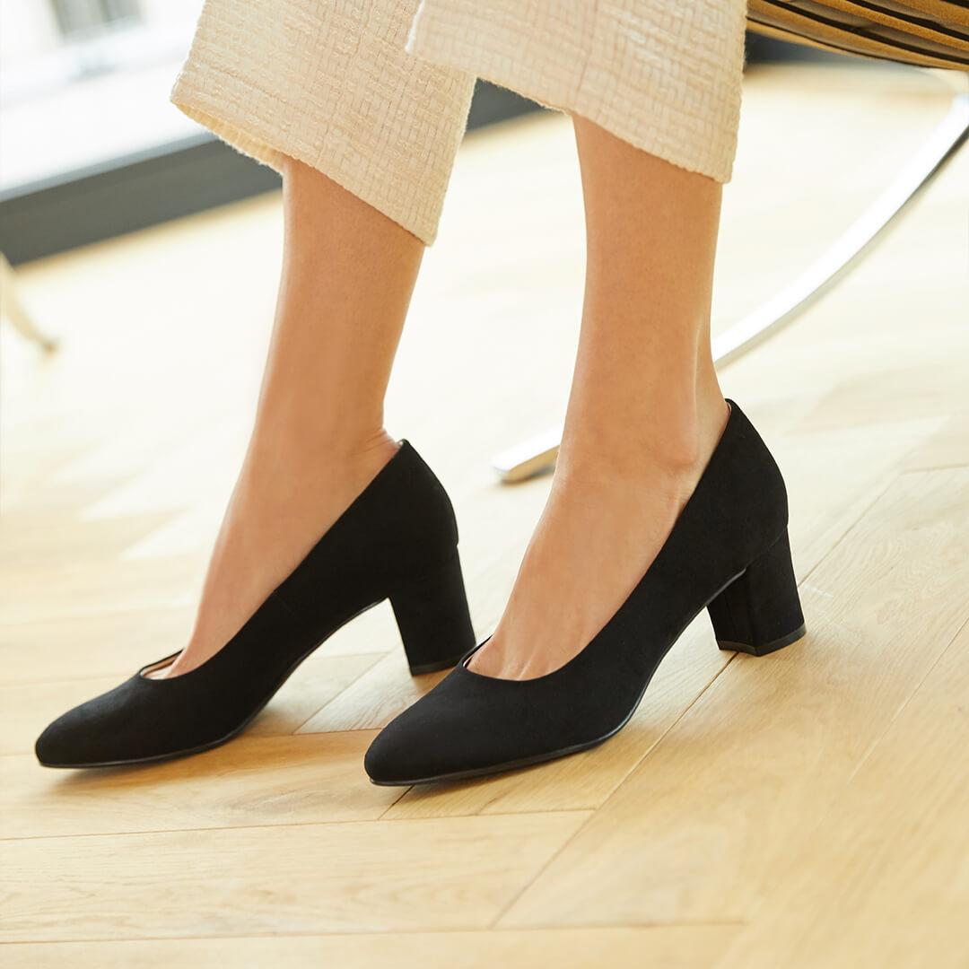 zapatos de tacón que no duelan los pies