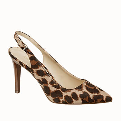 Star Collection by Maddalena Corvaglia - Slingback animalier