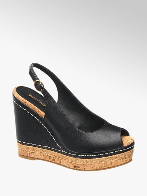 Sandalo con zeppa, Deichmann