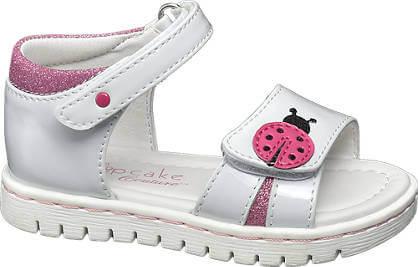 Sandali da bimba - Sandalo Cupcake couture argento