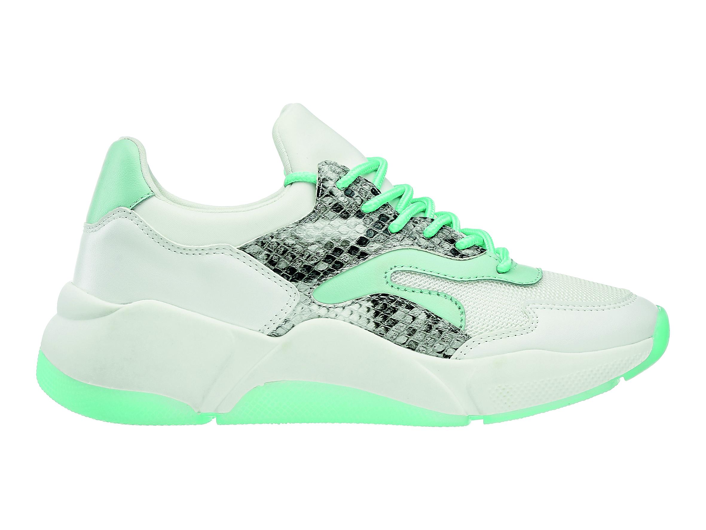 sneaker pastello - sneaker bianca con dettaglio azzurro, Deichmann