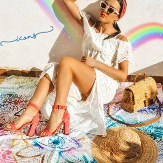 sandali da donna - sandalo con tacco a blocco, Deichmann