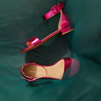 sandali bassi 2020 - sandaletto metallizzato star Collection by Rita Ora, Deichmann