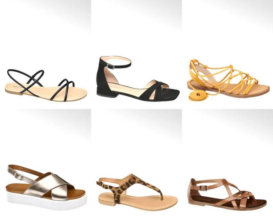 sandali bassi 2020 - sandaletti Deichmann