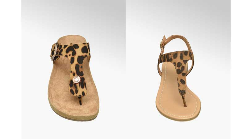 Sandaletti animalier, Deichmann