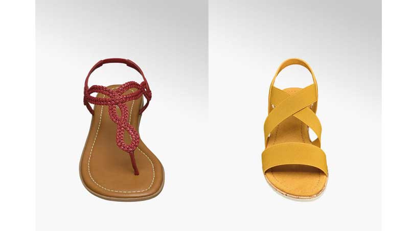 sandaletti colorati, Deichmann